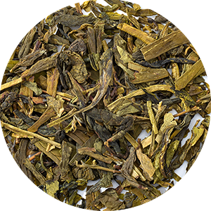produit torrefaction papillons - Long Jing