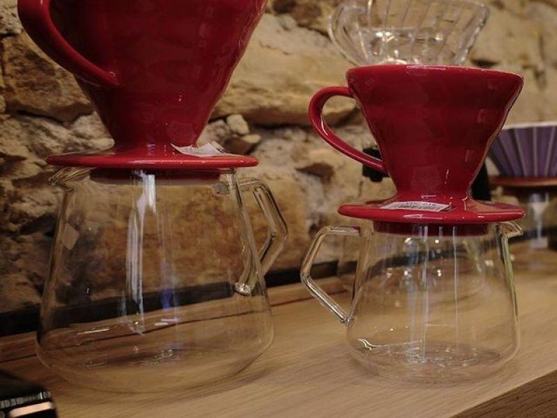 img produit Dripper V60 - 4 tasses rouge