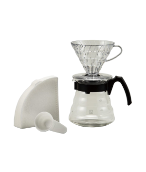 produit torrefaction papillons - Kit V60 Dripper plastique 1-5 tasses