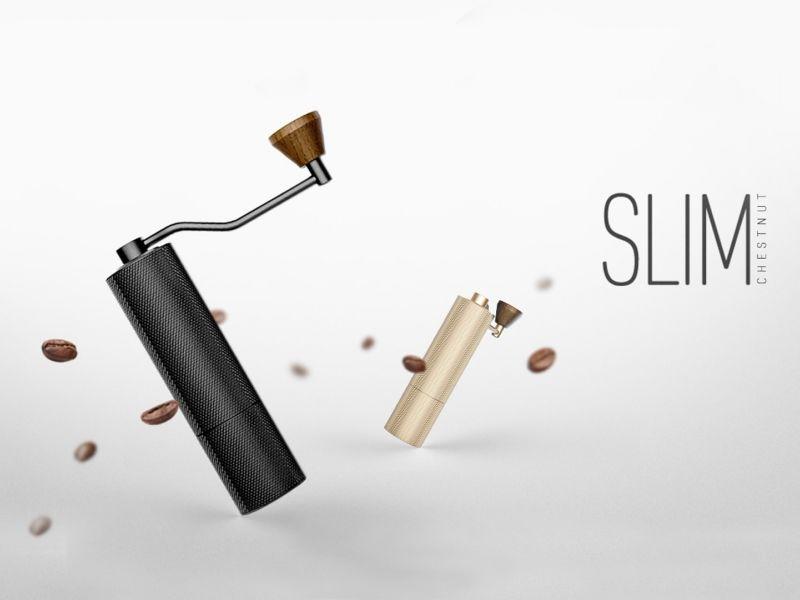 img produit Moulin manuel Slim Noir