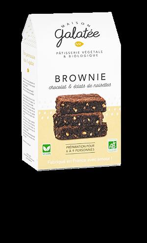 produit torrefaction papillons - Brownie Chocolat et Eclats de Noisettes