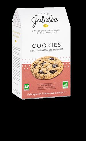 produit torrefaction papillons - Cookies aux Morceaux de Chocolat