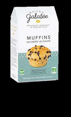produit torrefaction papillons - Muffins aux Pépites de Chocolat