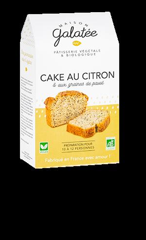 produit torrefaction papillons - Cake au Citron et Graines de Pavot