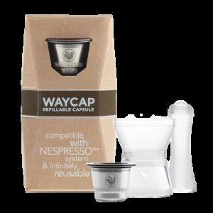 produit torrefaction papillons - Capsule réutilisable compatible Nespresso