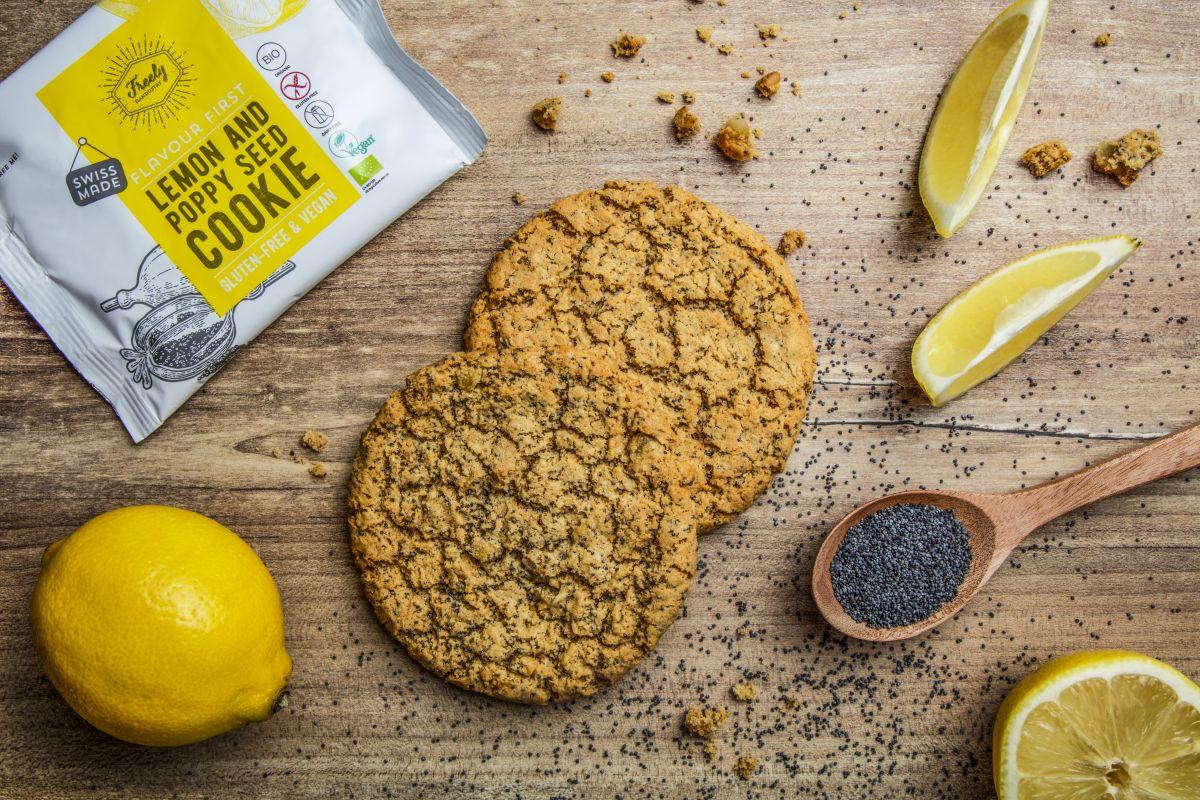 img produit Cookie au citron et graines de pavot