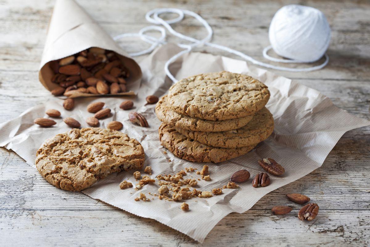 img produit Cookie aux amandes et noix de pécan