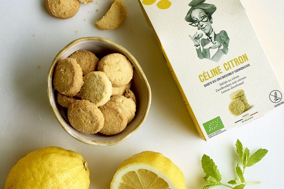 img produit Céline Citron : Sablés au citron