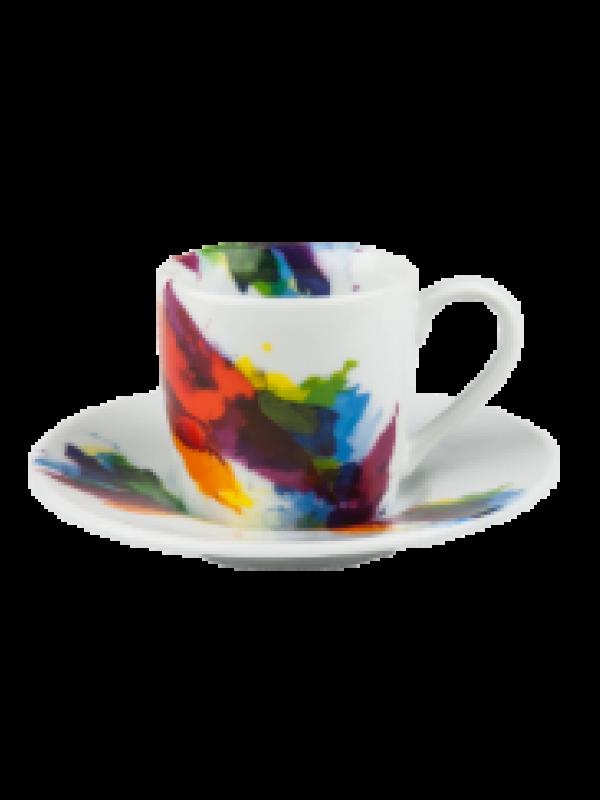 produit torrefaction papillons - Tasse espresso On colour flow