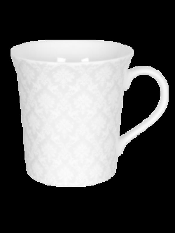 produit torrefaction papillons - Mug White Silence